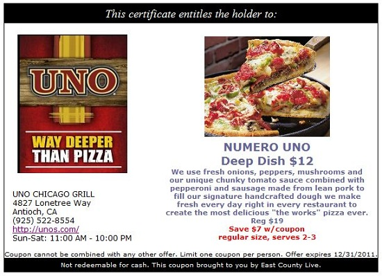 Unos coupon code